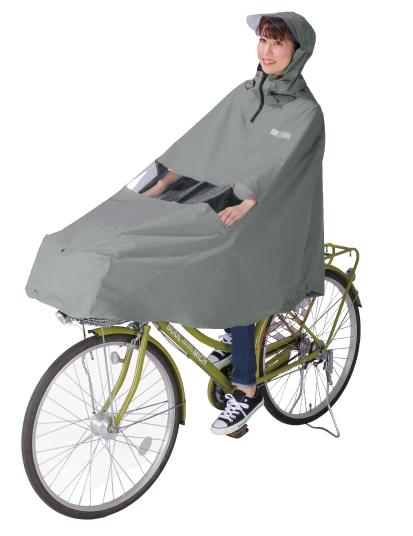自転車屋さんのポンチョ ノーブル D-3PO-PG カーキ