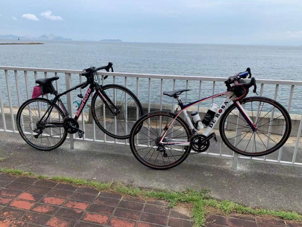 赤穂海浜公園沿い