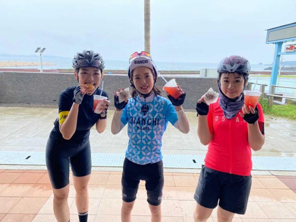 ロードバイク女子